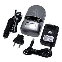 MaximalPower UC-101 Cargador de batería universal AA /AAA para Canon, Sony, Nikon, Panasonic, Olympus, Samsung, Fuji y Kodak Cámara, Videocámara, Baterías para teléfonos celulares