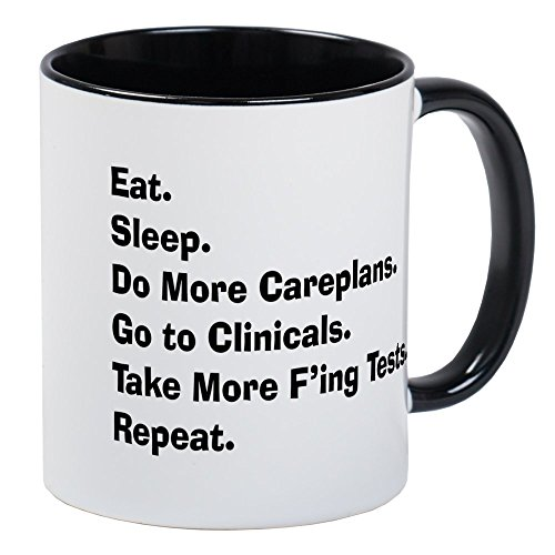 Png Funny Womens Light - CafePress Atlas Of A Student Nurse Brain LIGHTS.PNG Mug Unique Coffee Mug, Coffee Cup