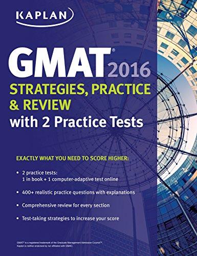Kaplan GMAT Strategies, Practice & Review (2016) [Kaplan]