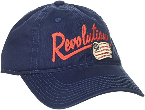 - adidas MLS New England Revolution Women's Adjustable Slouch Hat with Script Logo, One Size, Navy