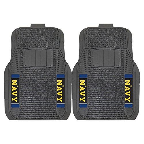 Fanmats 20622 U.S. Naval Academy Deluxe Mat, Team Color, 17