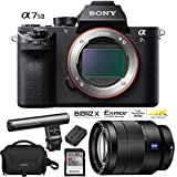 Sony a7S II 12.2MP Full-frame Mirrorless Interchangeable Lens Camera Body + 64GB Battery Grip Dual Battery Pro Video Bundle (Zeiss Vario-Tessar T FE 24-70mm Lens Kit)