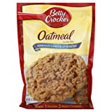 Betty Crocker, Oatmeal Cookie Mix, 17.5oz Pouch (Pack of 6)