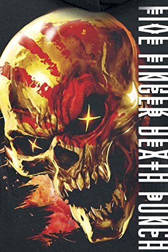 Jogging Punch For Finger None Death Justice Skull Nero Five Felpa gwvTqpS