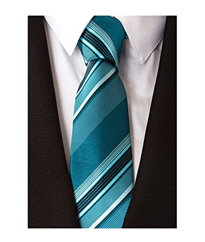 mens blue green ties - 7