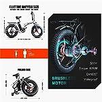 Skyzzie-Bici-Elettriche-Bicicletta-Elettrica-Pieghevole-Bici-elettriche-con-Pedale20-Pollici-500W-Bateria-al-Litio-48V-15-Ah-velocita-Massima-35-kmhNeroBianco