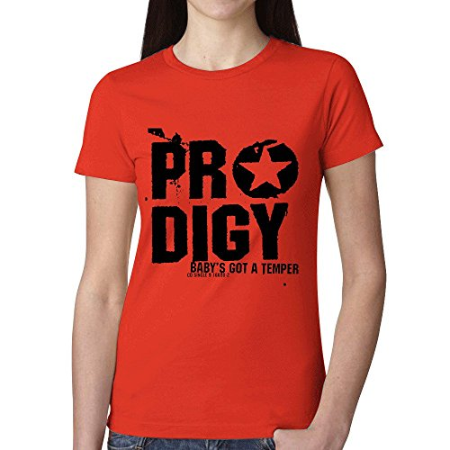 The Prodigy Babys Got A Temper Women T Shirts - Hills Macy's Short