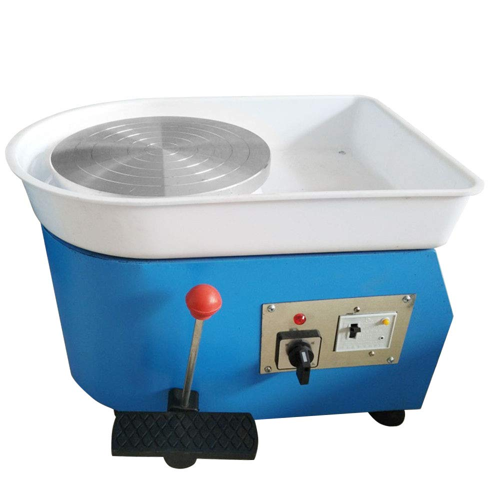 Pottery Wheel, PROMOTOR 110V Pottery Forming Machine 10''/25cm Table Top Pottery Tool Ceramics Wheel
