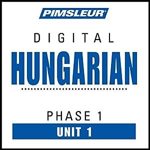 Hungarian Phase 1, Unit 01 Audiobook