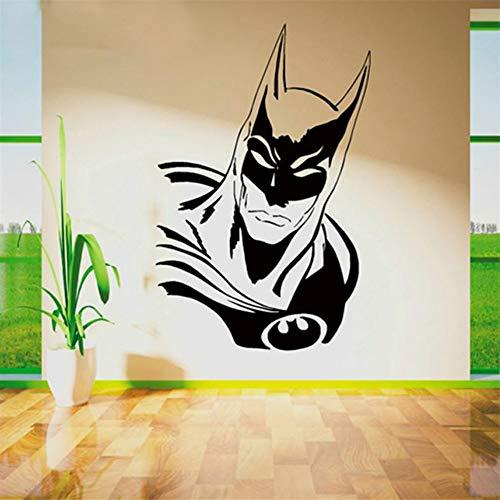 Ysisa Batman Wall Decal Sticker New Batman Wall Decals Sticker Vinyl Wall Art Movie Poster Cartoon Wallpaper Stickers for Kids ()