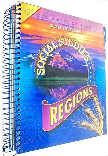 Social Studies 4 Regions Teacher Edition Boyd