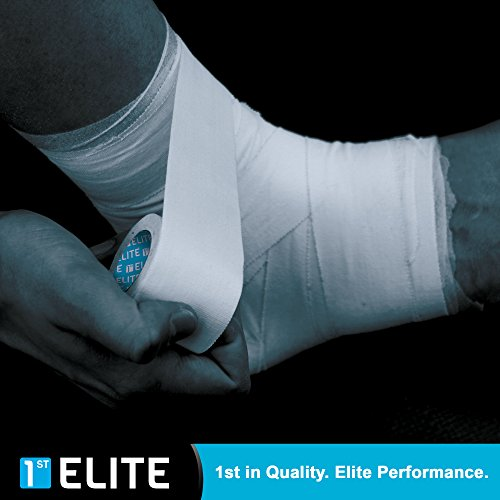 Athletic Tape - Elite Sports & Athletes - Sport Medical Tapes - Climbing Gymnastics Lacrosse Football Soccer Lifting Crossfit by 1st Elite (Image #3)