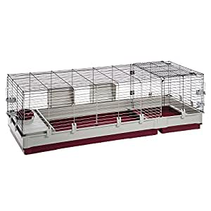 Ferplast Rabbit Cage, 63.78 x 23.62 19.62 x 19.68""