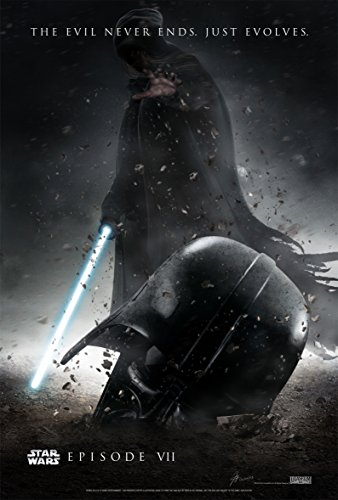 """Star Wars: Episode VII - The Force Awakens (2015) Movie Poster 24""""x36"""""""
