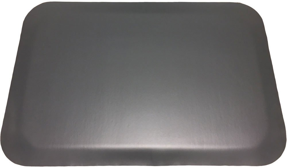 Luxury Step 1/2'' Premium Smooth-Top Anti-Fatigue Mat, 3' x 5', Black by Portico Systems (Image #3)