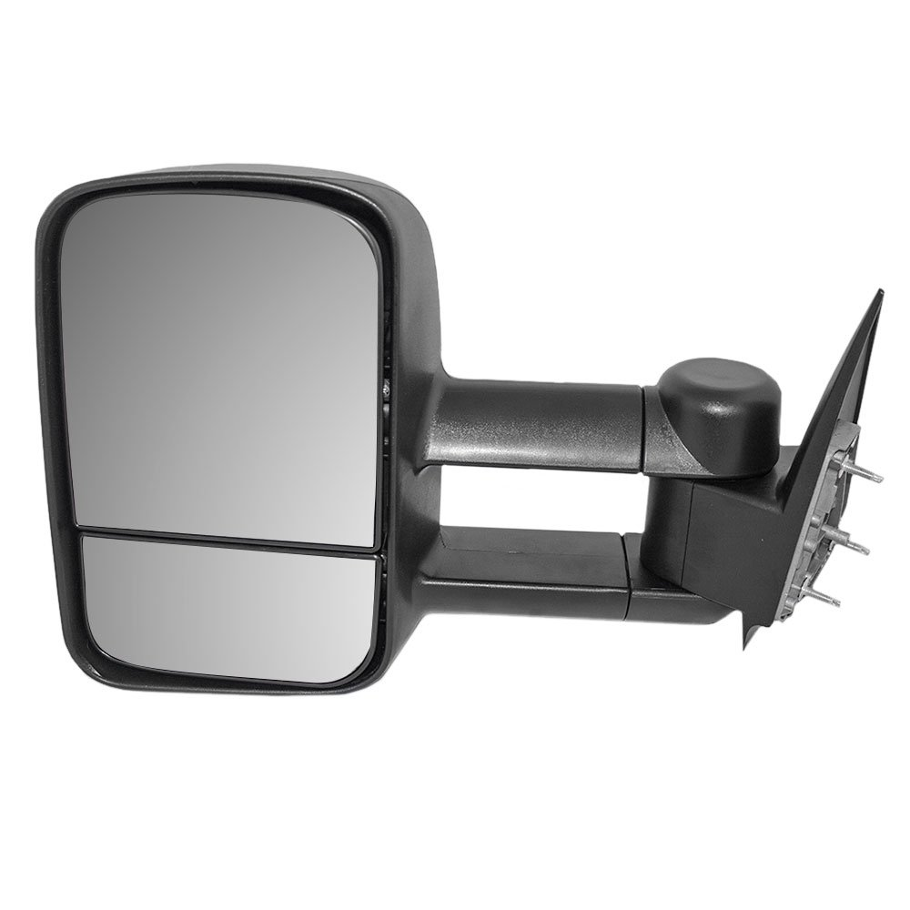 Drivers Manual Telescopic Tow Side View Mirror Performance Upgrade Replacement for Chevrolet Cadillac GMC Pickup Truck GM1320416