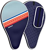 Duplex | Ping Pong Paddle Case - Best Table Tennis Paddle Cover for Blade with Bonus Ball Storage - Waterproof
