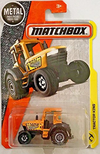 (Matchbox 2017 MBX Construction Tractor King 37/125, Orange)