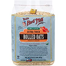 Bob's Red Mill - Organic Oats Rolled Thick, 32 Ounces