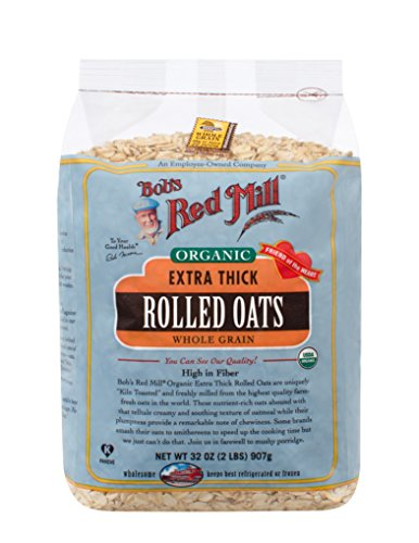 - Bob's Red Mill - Organic Oats Rolled Thick, 32 Ounces