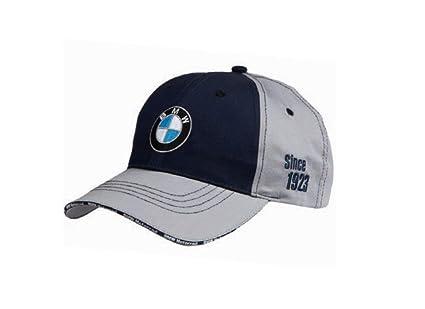 BMW Original Moto Unisex acelerar Gorra Gris/Azul marino Talla ...