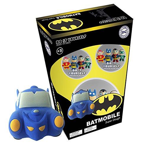 Batman Batmobile Super Dough Do It Yourself Modeling - Dough Spiderman Play