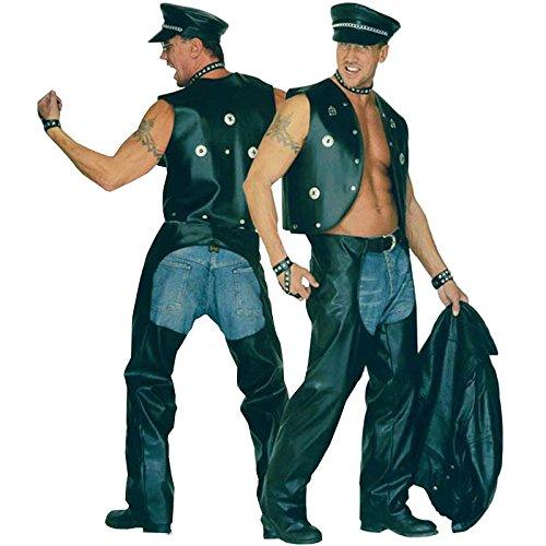 Biker Chaps Costume - 5