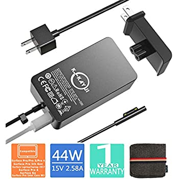 Amazon.com: Surface Pro 3 Charger Surface Pro 4 Charger ...