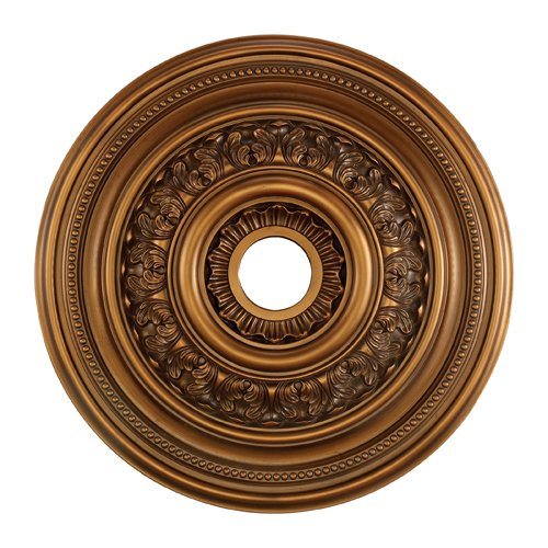 Elk M1012AB English Study Ceiling Medallion, 24-Inch, Antique Bronze Finish ()