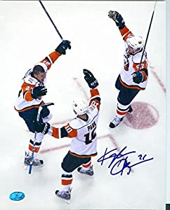 Autograph 125824 New York Islanders Image No. Sc2 Kyle Okposo Autographed 8 x 10 in. Photo