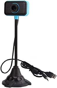 Tianhaik Computer 2.0 USB Webcam with Microphone, 480P Gooseneck Web Camera Stand for PC Desktop Laptop for Gaming Video Conferencing