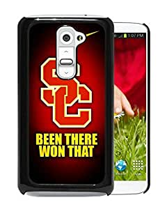 usc trojans 01 Black Hard Plastic LG G2 Phone Cover Case