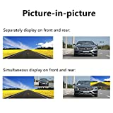 BeAngel 7 Inch Touch Screen Car Camera Rearview