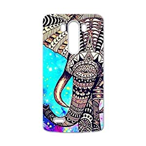 Beautiful flowers elephant Cell Phone Case for LG G3