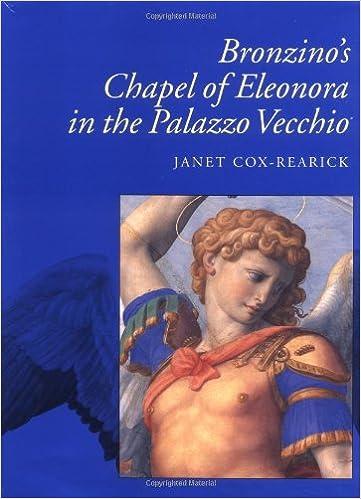 Bronzinos Chapel of Eleonora in the Palazzo Vecchio