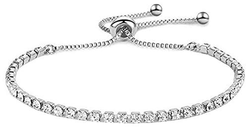 Pulsera - pulsera - diamantes de imitación - brillo ...