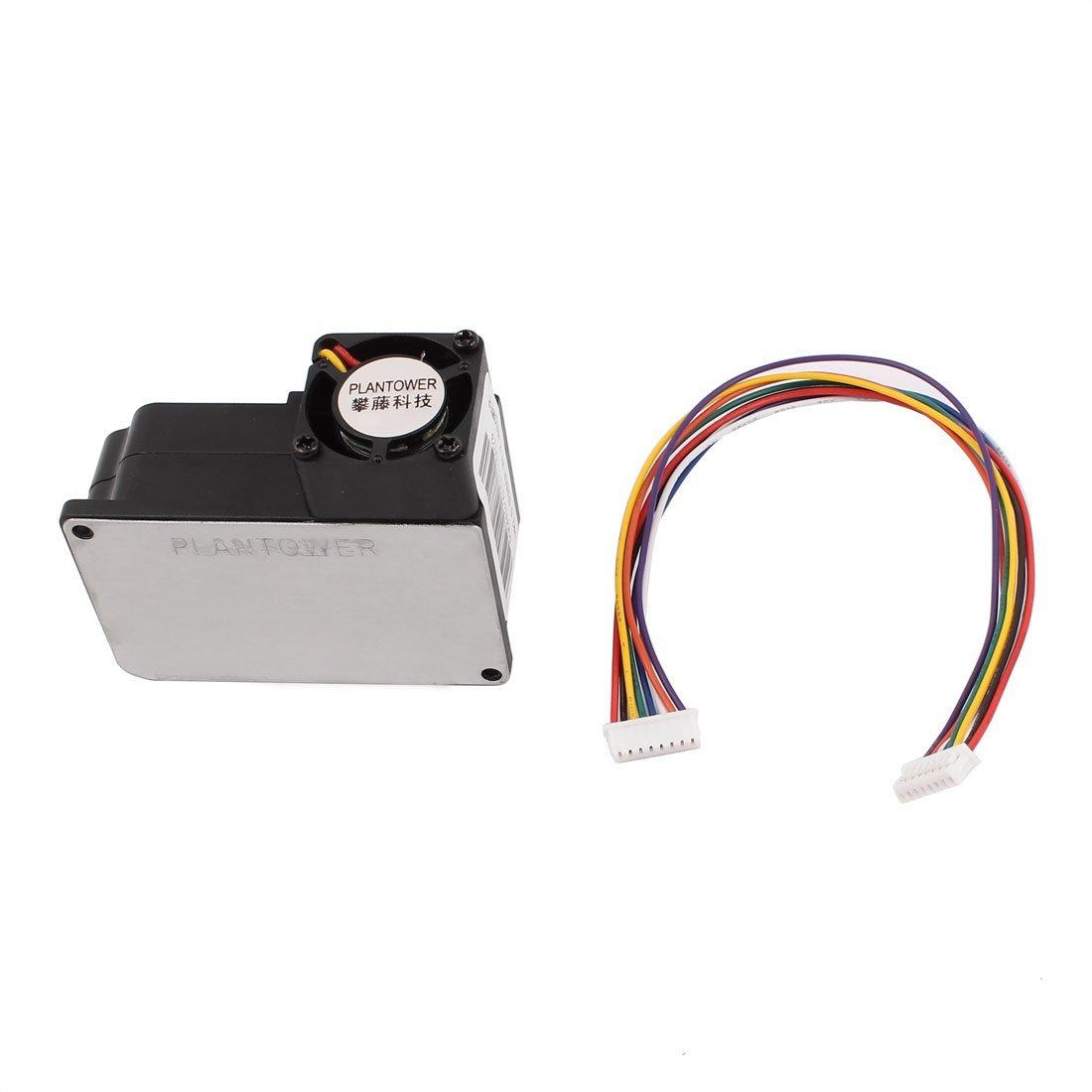 Módulo Sensor láser eDealMax Polvo El polvo Detector de aire purificador de PM1.0 PM2.5 DE PM10