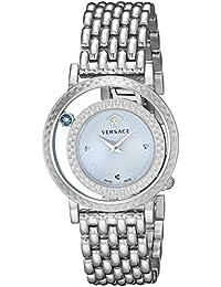 Women's VDA030014 Venus Stainless Steel Bracelet Watch with Blue Dial
