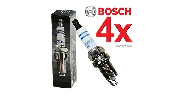 Bosch 4x BOSCH Super Plus FGR7DQP+ - Bujía para motor de barco: Amazon.es: Deportes y aire libre