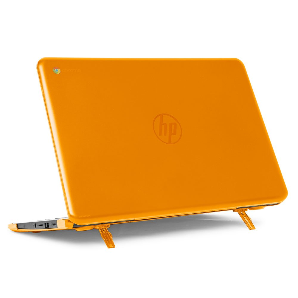mCover Hard Shell Case for 14'' HP Chromebook 14 G5 / 14-CA / 14-DB Series (NOT Compatible with Older HP C14 G1 / G2 / G3 / G4 Series) laptops (HP C14-G5 Orange)