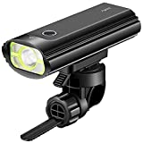 Bicycle Headlight, Aglaia 400LM Bike Light Set, USB Rechargeable LED Bike Headlight, Easy To Install for Kids Men Women Road Cycling Safety Flashlight