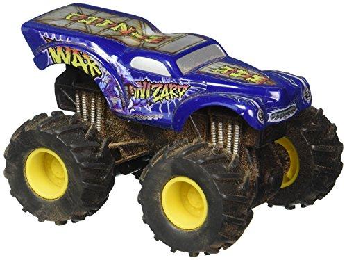 2010 Hot Wheels 1:64 Scale Monster Jam Flag Series Truck- War Wizard - Truck Wizard War Monster