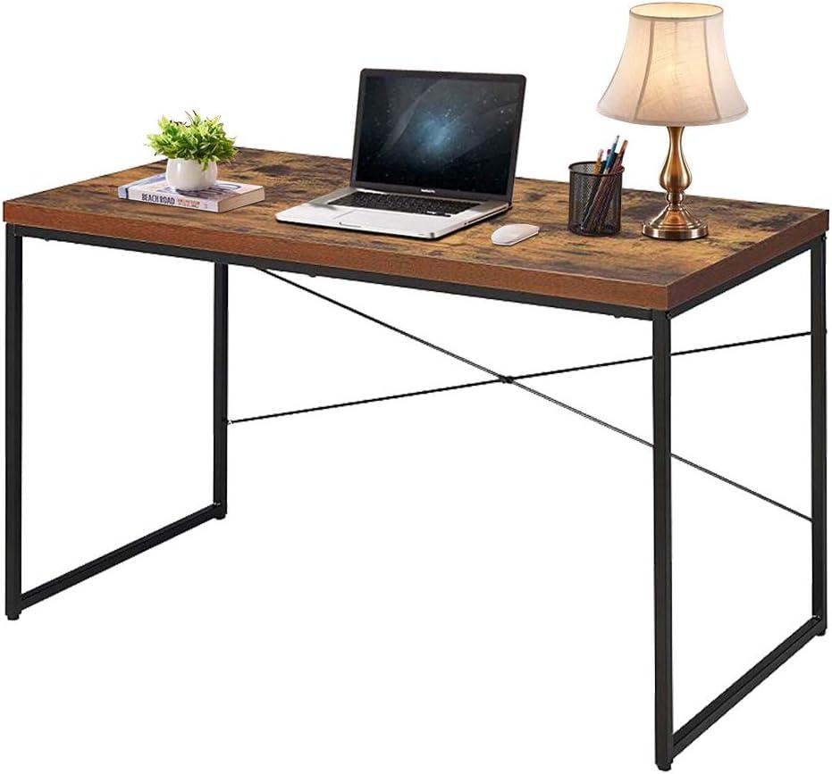 - Amazon.com: LENTIA Computer Desk Industrial Style Writing Study