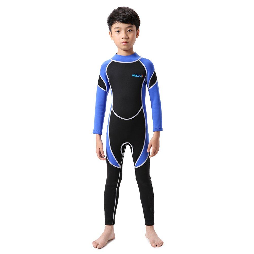 Amazon.com: Lixada Kids Neoprene Diving Wetsuit Boys Girls ...