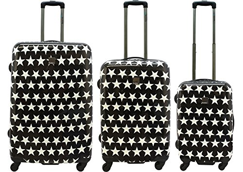 Saxoline Blue Star Suitcase Set 3 pcs. Star