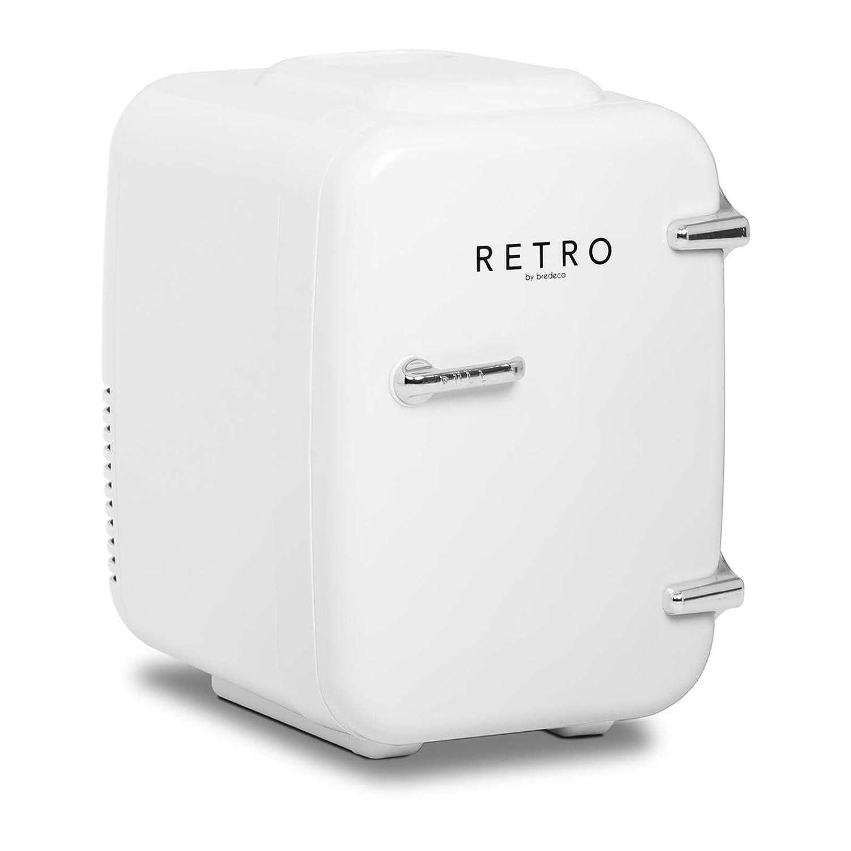 bredeco Mini Refrigerador Nevera De Viaje BCMF-4L-W (Corriente 12 ...