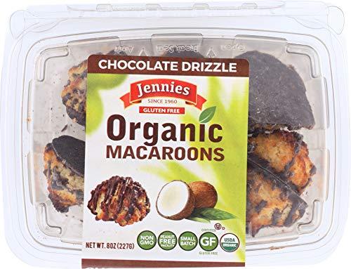 Jennies Macaroon Chocolate Drizzle Organic, 8 oz