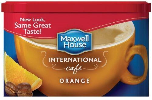 Maxwell House International Orange Cafe - 9.3 oz
