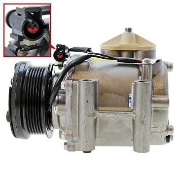 1x Compresor de aire acondicionado FORD FIESTA 5 V 1.3 DESDE 2001; FORD FUSION 1.4 TDCi DESDE 2002; FORD STREET KA 1.6 2003-05: Amazon.es: Coche y moto