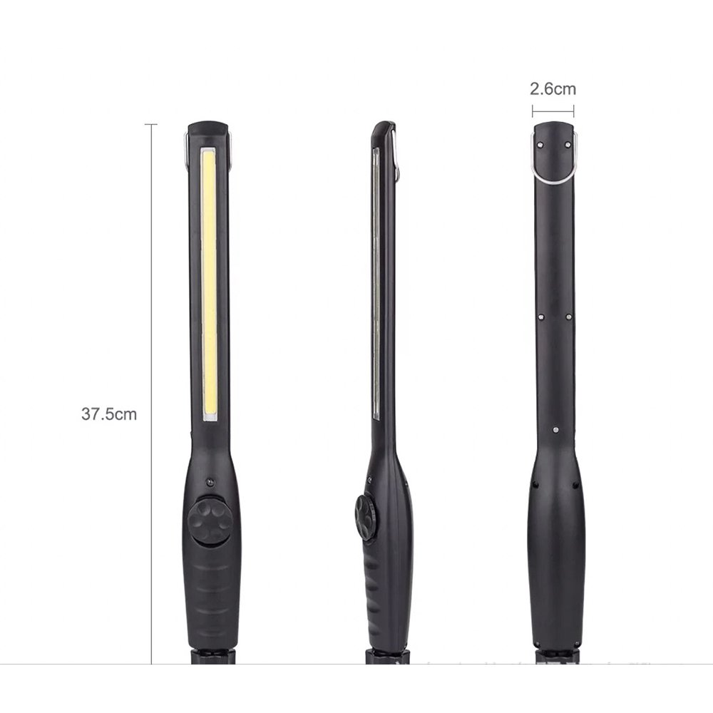 COB Arbeitsleuchte Handlampe LED Taschenlampe wiederaufladbar Super Hell Rampenlicht Magnetische Teller Taschenlampe mit /Übergeben Haken f/ür Werkstatt Automobil-Haushalt Notfall Verwenden